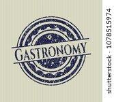 blue gastronomy distress rubber ... | Shutterstock .eps vector #1078515974