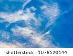 the sky and the sea change... | Shutterstock . vector #1078520144