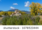 Small photo of Santa Foteini church in Mantineia, Peloponnese, Greece.