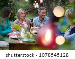beautiful summer evening in the ... | Shutterstock . vector #1078545128