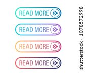 read more button set. vector...