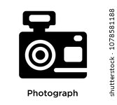 photograph icon isolated on... | Shutterstock .eps vector #1078581188