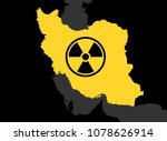 iran and nuclear power  ... | Shutterstock .eps vector #1078626914