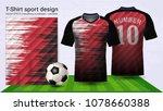 soccer jersey and t shirt sport ...   Shutterstock .eps vector #1078660388
