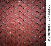 texture of red grunge rusty...   Shutterstock . vector #107866670