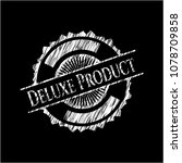 deluxe product written on a... | Shutterstock .eps vector #1078709858