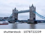 long exposure of the tower... | Shutterstock . vector #1078722239