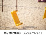 broken chain swing in...   Shutterstock . vector #1078747844