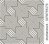vector seamless pattern. modern ... | Shutterstock .eps vector #1078755173