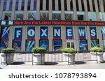 new york   april 26  2018  fox... | Shutterstock . vector #1078793894