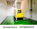 Generator Room With  Generator...