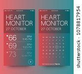 heart monitor app with beats...