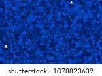 Dark Blue Vector Abstract...