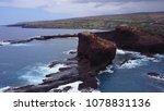 aerial view of sweetheart rock  ... | Shutterstock . vector #1078831136