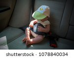close up of a doll in a car... | Shutterstock . vector #1078840034