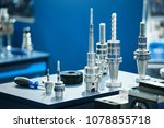 drills for drilling machines | Shutterstock . vector #1078855718