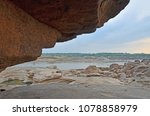 big cliff and rock shore of the ... | Shutterstock . vector #1078858979