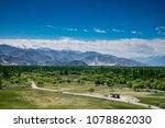 beatuiful landscape view from... | Shutterstock . vector #1078862030