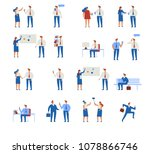 business people characters. ... | Shutterstock .eps vector #1078866746