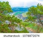 saxon switzerland. view of elbe ... | Shutterstock . vector #1078872074