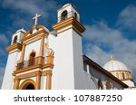 guadalupe church  san cristobal ... | Shutterstock . vector #107887250