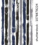 old watercolor brush stripes... | Shutterstock .eps vector #1078878224