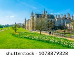 burghley house near stamford ... | Shutterstock . vector #1078879328