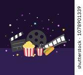 cinema vector illustration | Shutterstock .eps vector #1078901339