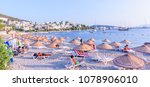 panoramic view of typical... | Shutterstock . vector #1078906010