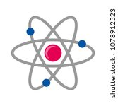 atom science symbol illustration | Shutterstock .eps vector #1078912523