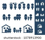 family icons  vector | Shutterstock .eps vector #1078913900
