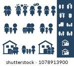 family icons  vector | Shutterstock .eps vector #1078913900