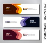 banner background modern... | Shutterstock .eps vector #1078921469