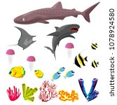 vector collection of... | Shutterstock .eps vector #1078924580