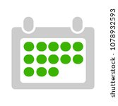month calendar event icon ... | Shutterstock .eps vector #1078932593