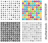 100 lending icons set vector in ... | Shutterstock .eps vector #1078950539