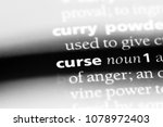 curse word in a dictionary.... | Shutterstock . vector #1078972403