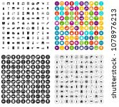 100 household products icons... | Shutterstock .eps vector #1078976213