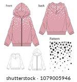 vector illustration of girls...   Shutterstock .eps vector #1079005946