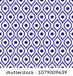 seamless thai pattern  abstract ... | Shutterstock .eps vector #1079009639