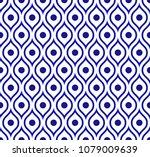 seamless thai pattern  abstract ... | Shutterstock .eps vector #1079009639