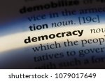 Democracy Word In A Dictionary. ...