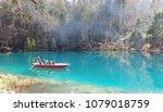 Blausee  Blue Lake   Kander...