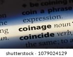 coinage word in a dictionary. coinage concept