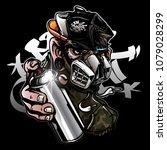 Graffiti Character Monkey With...