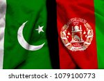 pakistan and afghanistan flag... | Shutterstock . vector #1079100773