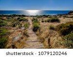relaxing beautiful landscape | Shutterstock . vector #1079120246