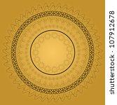 islamic ornament design. jpeg... | Shutterstock .eps vector #107912678
