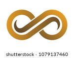 gold vision abstract logo | Shutterstock .eps vector #1079137460