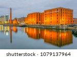 night view of albert dock and... | Shutterstock . vector #1079137964